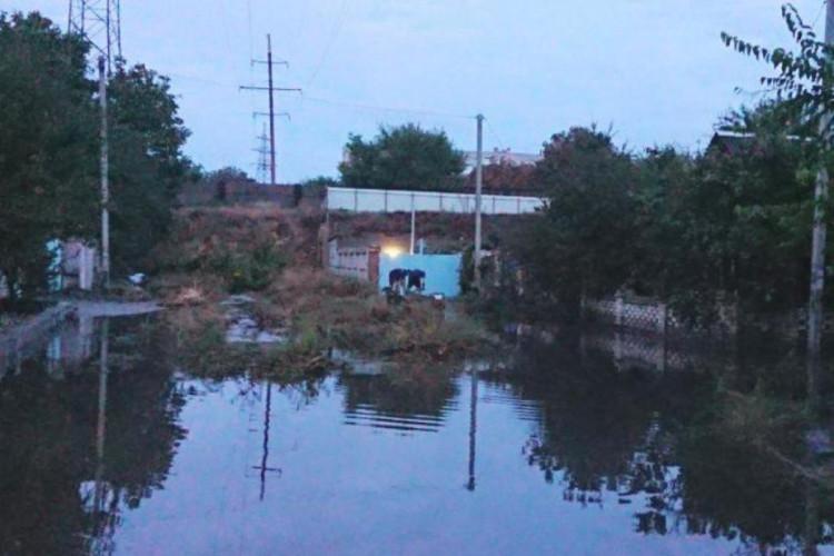 Ливни натворили беды в Херсоне и области